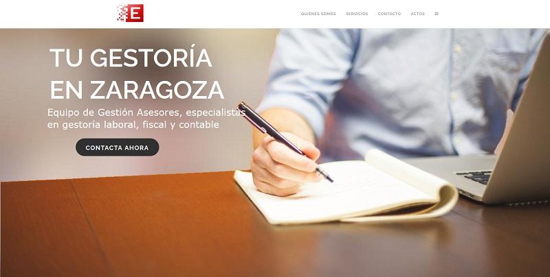 equipodegestion.es, página web hecha por la agencia de marketing en Zaragoza ComuniCrece