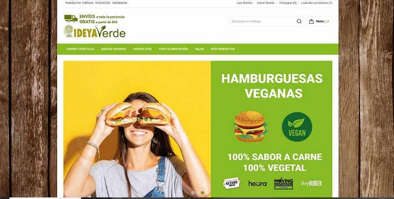 Ideyaverde.es, página web hecha por la agencia de marketing en Zaragoza ComuniCrece
