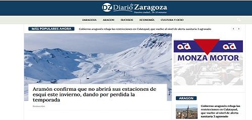 Peluqueriaszaragoza.es, página web desarrollada por la agencia de marketing en Zaragoza ComuniCrece
