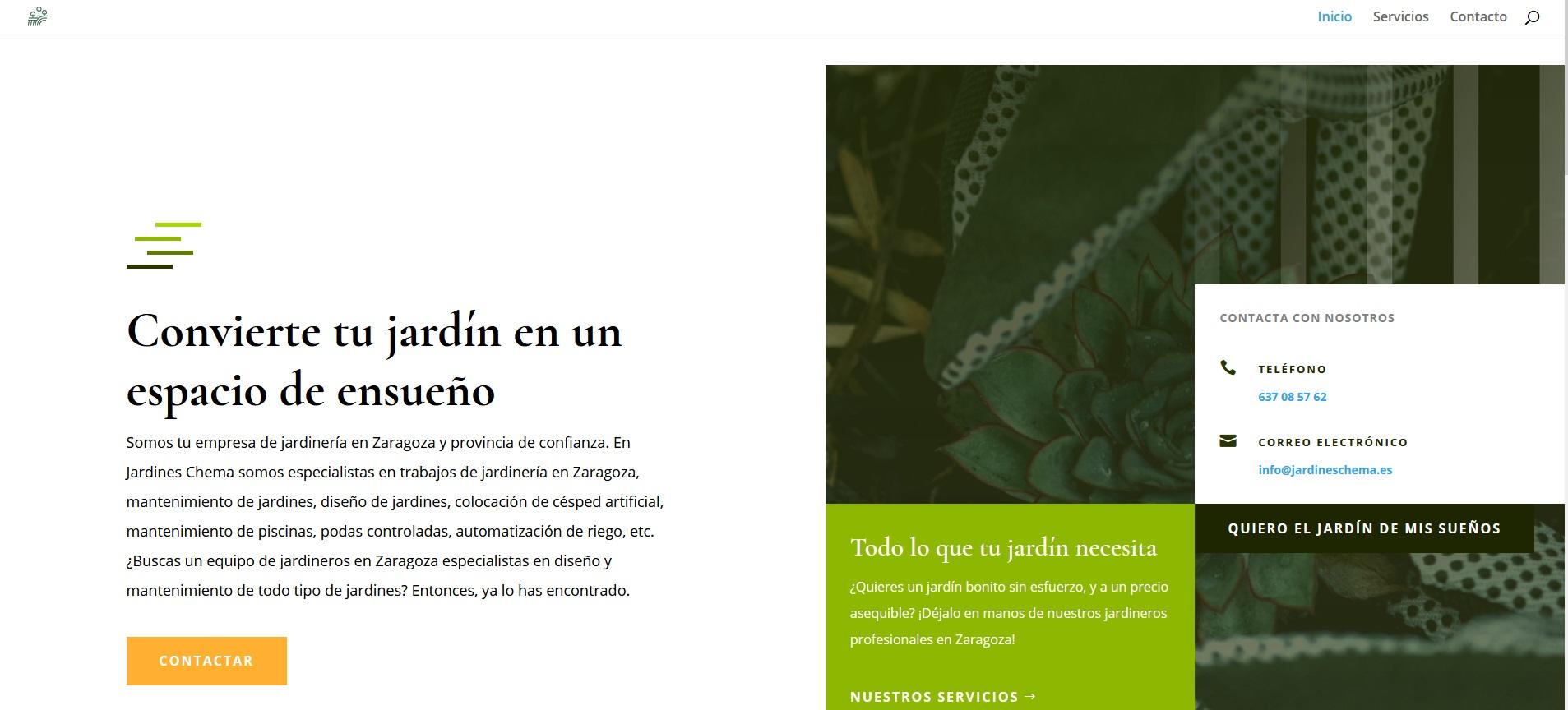 Academiazaragoza.es, página web hecha por la agencia de marketing en Zaragoza ComuniCrece